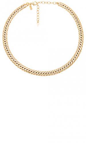 Ожерелье viviani Natalie B Jewelry. Цвет: металлический золотой