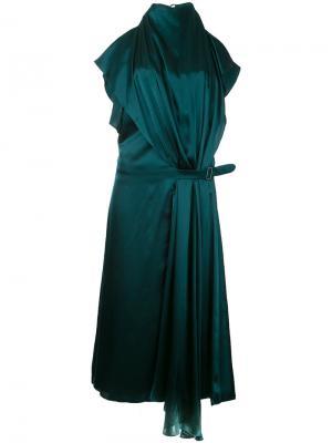 Платье Iris Bianca Spender. Цвет: зелёный