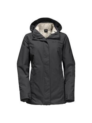 Куртка VERNON WOMEN Jack Wolfskin. Цвет: темно-серый