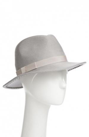 Шляпа Eugenia Kim. Цвет: светло-серый