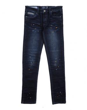 Джинсовые брюки HARMONT&BLAINE. Цвет: синий