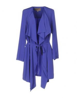 Легкое пальто SPACE. Цвет: фиолетовый