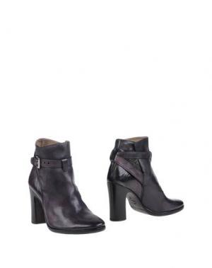 Полусапоги и высокие ботинки PREVENTI. Цвет: темно-фиолетовый