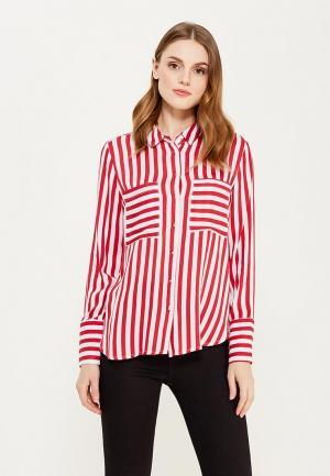 Рубашка Mango. Цвет: красный