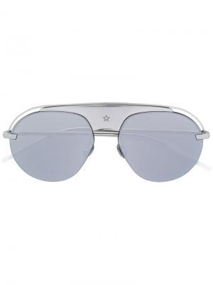 Солнцезащитные очки Evolution 2 Dior Eyewear. Цвет: металлический