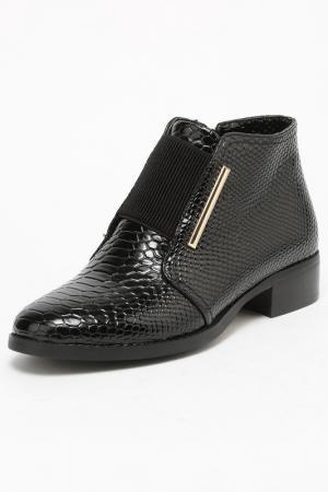 Ботинки SP. Цвет: черный