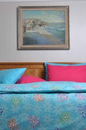 Постельное белье 1,5 сп. BRIELLE. Цвет: голубой
