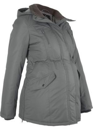 Куртка для беременных (дымчато-серый) bonprix. Цвет: дымчато-серый