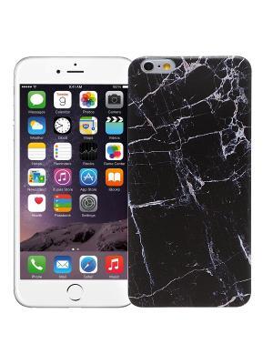 Чехол для iPhone 6+ Total black Kawaii Factory. Цвет: черный, белый
