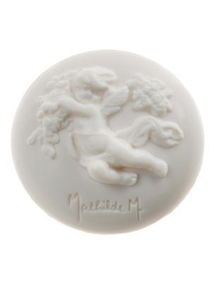 Мыло круглое 100г 1шт.,Античная Роза Mathilde M. Цвет: белый