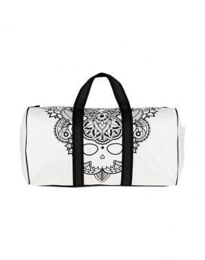 Дорожная сумка HYDROGEN. Цвет: белый