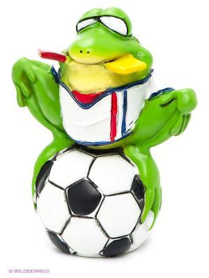 Фигурка-лягушка Футболист Фред The Comical World of Stratford. Цвет: зеленый, белый