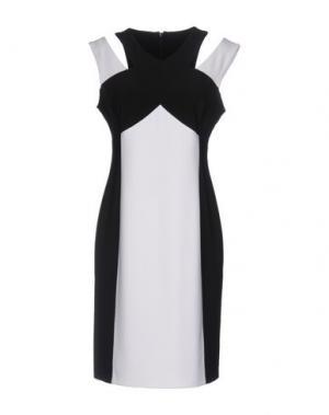 Короткое платье JOSEPH RIBKOFF. Цвет: белый