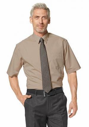 Рубашка с коротким рукавом STUDIO COLETTI. Цвет: коричневый