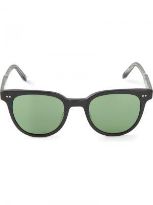 Солнцезащитные очки Garrett Leight. Цвет: чёрный