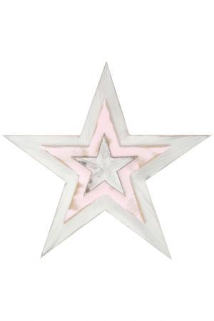 Декор настенный LA NEIGE. Цвет: белый, розовый