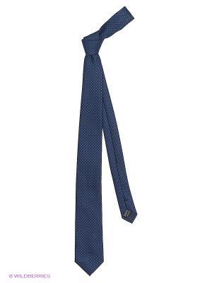 Галстуки KARFLORENS. Цвет: темно-синий, голубой