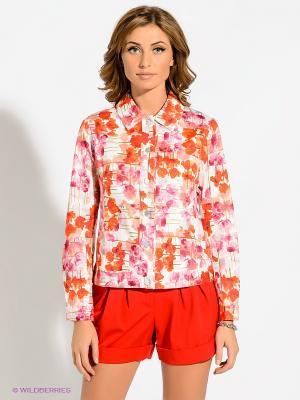 Жакет T&M. Цвет: красный, белый, розовый