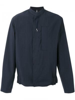 Легкая куртка Oamc. Цвет: синий