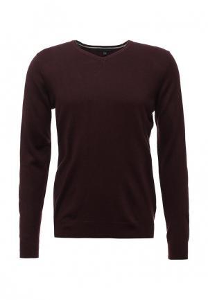 Пуловер J. Hart & Bros. Цвет: бордовый