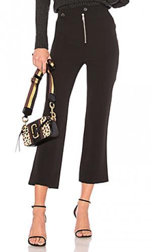 Широкие брюки harlow Cinq a Sept. Цвет: черный