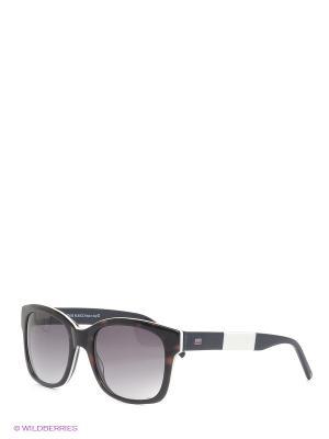 Солнцезащитные очки IS 11-283 50P Enni Marco. Цвет: коричневый, белый, темно-синий