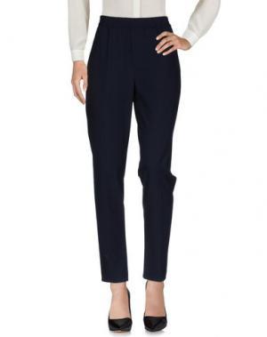 Повседневные брюки LIBERTINE-LIBERTINE. Цвет: темно-синий