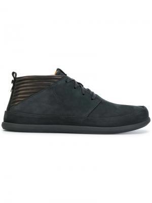 Ботинки на шнуровке Classic Nabuck Volta. Цвет: чёрный