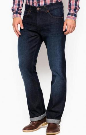 Синие расклешенные джинсы Wrangler W15BK384E