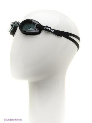 Очки для плавания EMDI. Цвет: черный