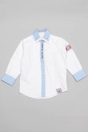 Рубашка Trasluz. Цвет: белый