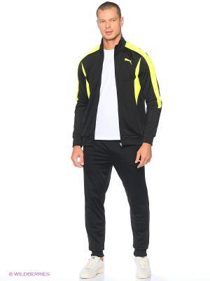 Костюм спортивный  ACTIVE BETTER Tricot Suit Puma. Цвет: черный