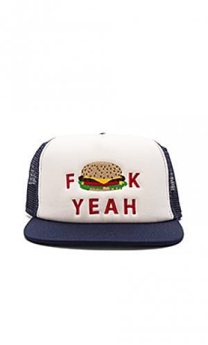 Шляпа yeah burg Ambsn. Цвет: синий