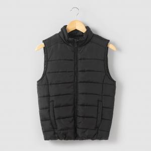 Куртка стеганая легкая без рукавов для 10-16 лет R édition. Цвет: черный