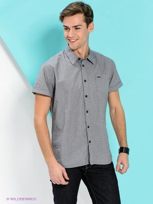 Рубашка PEPE JEANS LONDON. Цвет: серый, черный