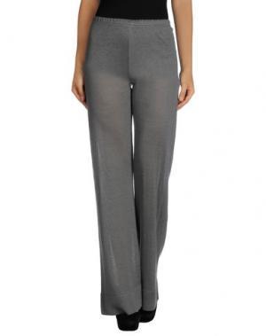 Повседневные брюки NEERA. Цвет: серый