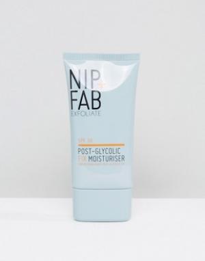 Nip+Fab Гликолевое увлажняющее средство Post Glycolic Fix. Цвет: бесцветный