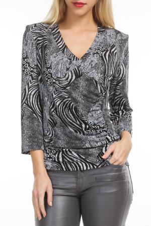 Блуза Georgede. Цвет: grey