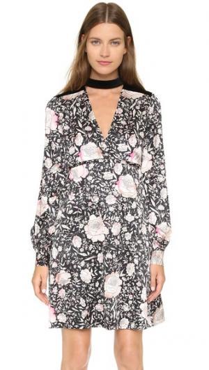 Платье Anouck Jill Stuart. Цвет: бледно-розовый мульти