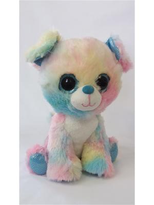 Глазастик Собачка Fancy. Цвет: голубой, желтый, розовый
