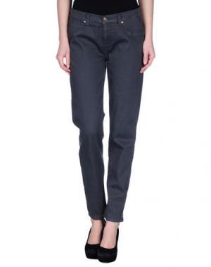 Джинсовые брюки MORE by SISTE'S. Цвет: свинцово-серый