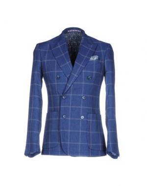 Пиджак JULIAN KEEN. Цвет: синий