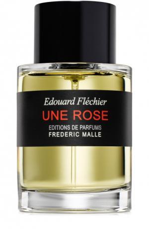 Парфюмерная вода Une Rose Frederic Malle. Цвет: бесцветный