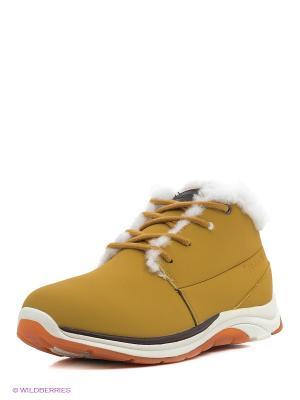 Ботинки Sprandi. Цвет: желтый