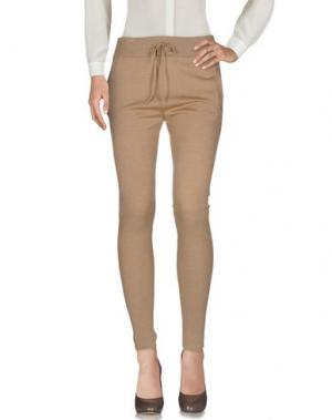 Повседневные брюки MA'RY'YA. Цвет: верблюжий