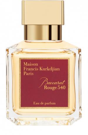 Парфюмерная вода Baccarat Rouge 540 Maison Francis Kurkdjian. Цвет: бесцветный