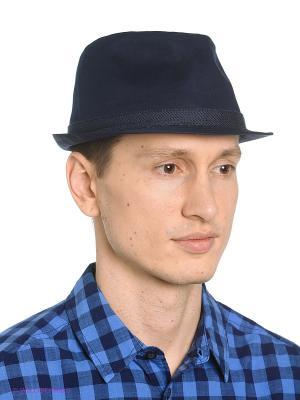 Шляпа Oodji. Цвет: темно-синий