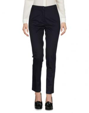 Повседневные брюки SIMONA MARTINI. Цвет: темно-синий