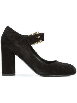 Туфли с ремешком на пряжке Co. Цвет: чёрный