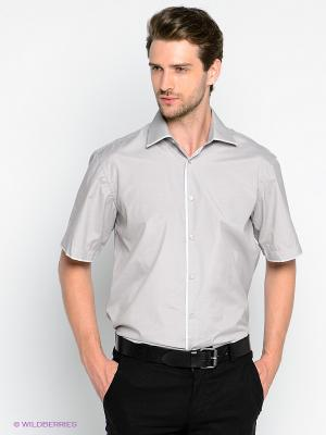 Рубашка Maestro. Цвет: светло-серый